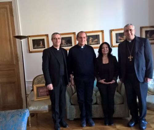 A Parigi per incontrare l'Ambasciatrice italiana presso l'UNESCO