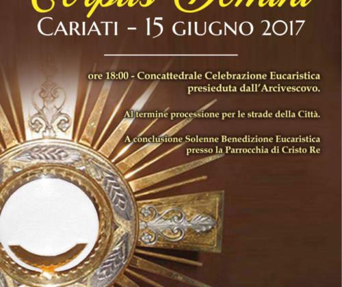 Processione Diocesana del Corpus Domini