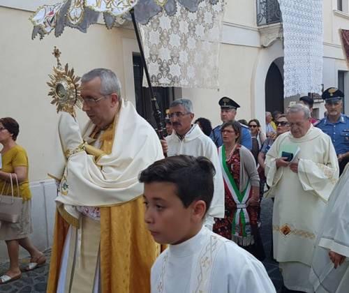 Celebrazione diocesana del Corpus Domini  – Omelia dell'Arcivescovo