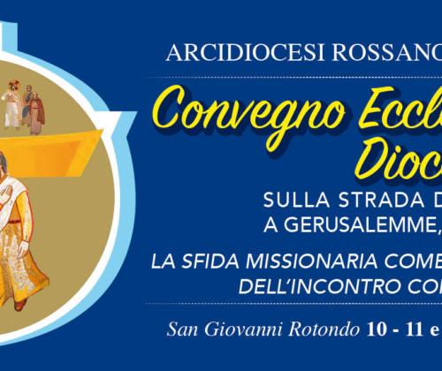 Convegno Ecclesiale Diocesano (I° giorno) – Relazione Mons. Pitta