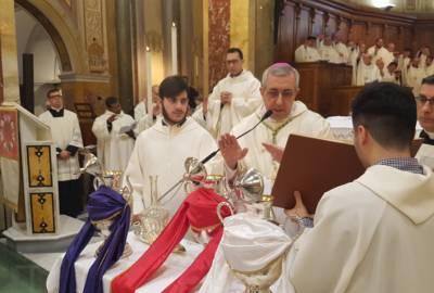 Messa Crismale, Mercoledì Santo 28 Marzo 2018 – Omelia dell'Arcivescovo