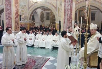 Ordinazione Diaconale – Lunedì 19 Marzo 2018 – Omelia dell'Arcivescovo