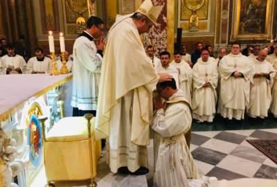 Omelia dell'Arcivescovo in occasione dell'ordinazione sacerdotale di Luigi Lavia
