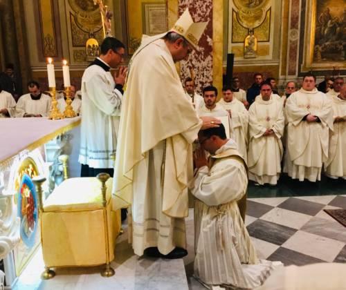 Ordinazione sacerdotale Luigi Lavia