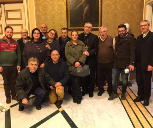 Incontro con i giornalisti del territorio diocesano