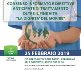Consenso informato e direttive anticipate di trattamento oltre il fine vita: la dignità del morire