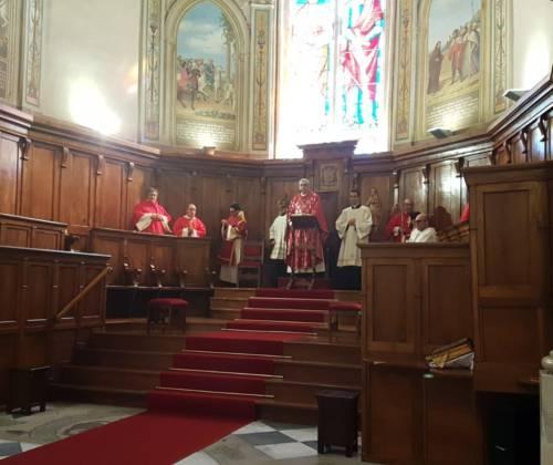 Celebrazione Eucaristica in LIS presieduta dall'Arcivescovo