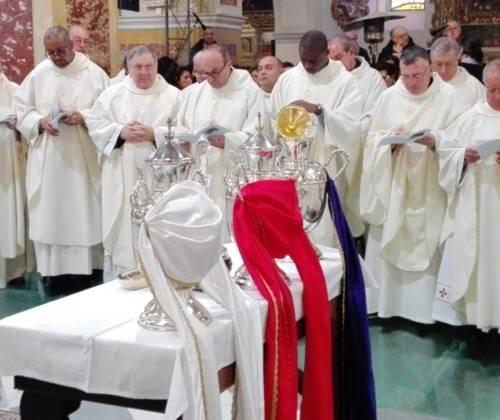 Messa del Crisma. Omelia di S. E. l'Arcivescovo Mons. Satriano