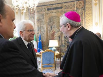 Cerimonia di consegna del facsimile del Codex Purpureus Rossanensis al Presidente della Repubblica