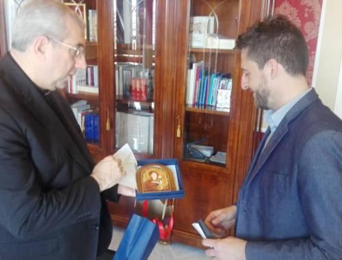 Gli auguri di S. E. l'Arcivescovo Mons. Giuseppe Satriano al Sindaco, alla Giunta e al Consiglio Comunale di Corigliano Rossano