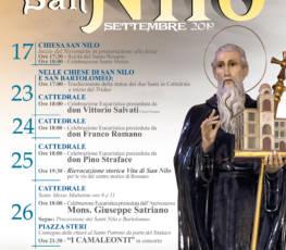 Festa patronale in onore di San Nilo – 2019