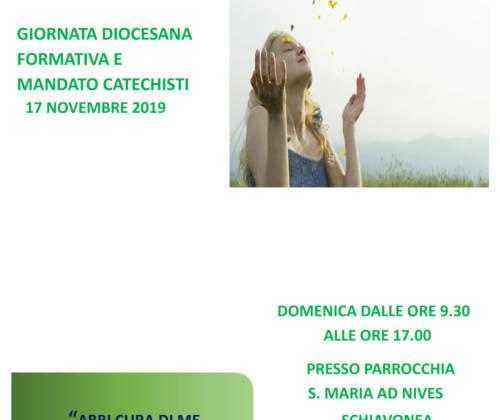 Giornata diocesana formativa e mandato catechisti