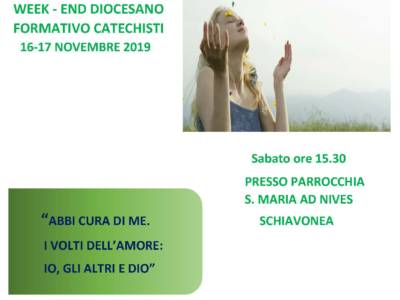 Week-end diocesano formativo catechisti
