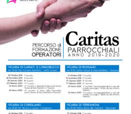 Formazione per operatori caritas parrocchiali 2019-2020