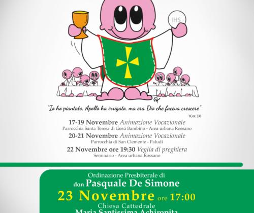 Ordinazione Presbiterale di don Pasquale De Simone