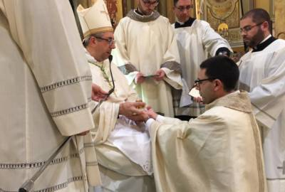 Ordinazione Presbiterale di Don Pasquale De Simone – OMELIA