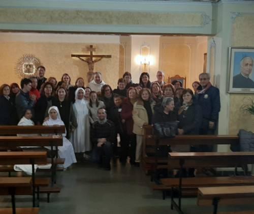 Cappella dell'Ospedale di Rossano: Santa Messa per la Giornata del Malato.