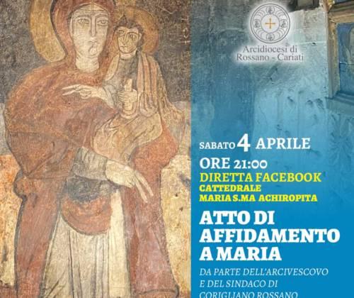 Testo della Supplica alla Vergine Santa Achiropita