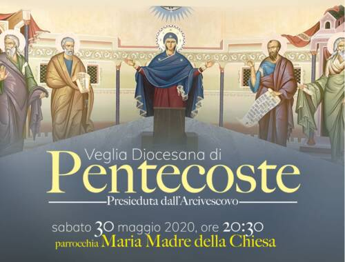 Schema per poter seguire la Veglia di Pentecoste