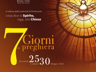 6° giorno del settenario in preparazione alla Pentecoste