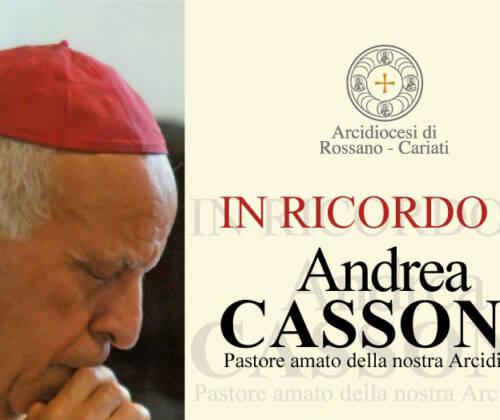 Oggi l'appuntamento in ricordo di Mons. Andrea Cassone