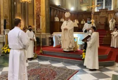 Solennità di Cristo Re, ORDINAZIONE DIACONALE di Luigi Martino – OMELIA