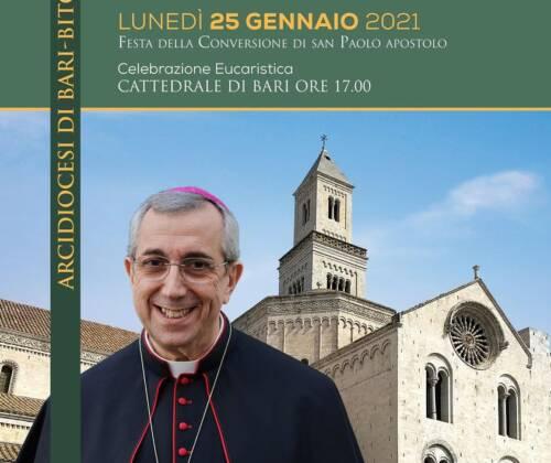 Iniziative in preparazione all'ingresso di Mons. Satriano nella Chiesa di Bari Bitonto