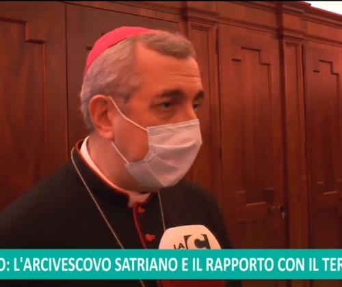 L'intervista di IC al termine della S.Messa di Natale all'Arcivescovo
