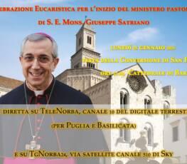 Diretta della Celebrazione Eucaristica per l'inizio del ministero pastorale di S. E. Mons. Giuseppe Satriano