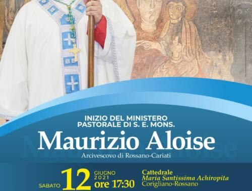 Il 12 Giugno l'ingresso di S. E. Mons. Maurizio Aloise