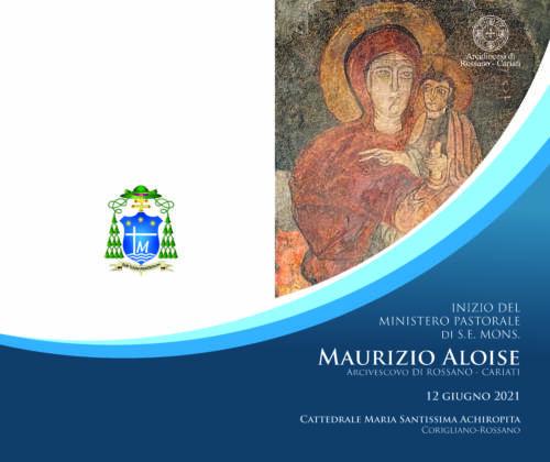 Libretto Messa – Inizio Ministero Pastorale S.E. Mons. Maurizio Aloise