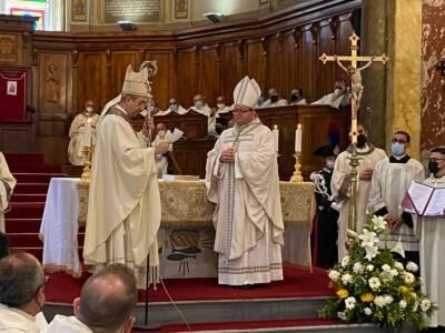 """Ingresso Mons. Maurizio Aloise: """"… Sono io a completa, totale, generosa e fedele disposizione di te, mia santa Chiesa!"""