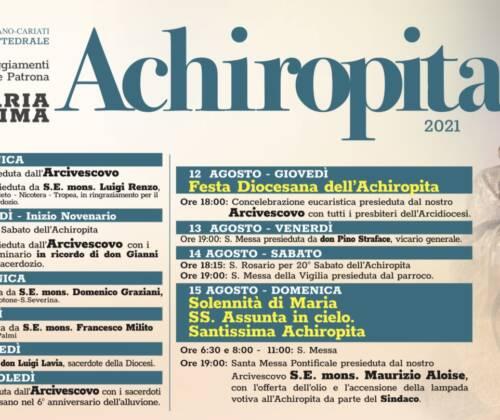 Il mese di Maria Santissima Achiropita e l'apertura della Porta della Speranza