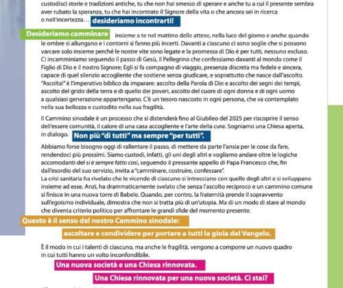 CEI: Lettera alle donne e agli uomini di buona volontà sul Cammino sinodale
